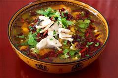 茄汁水煮鱼片