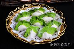 翡翠大白菜肉馅饺子