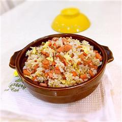 海米火腿蛋炒饭