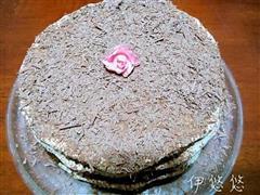 摩卡戚风蛋糕