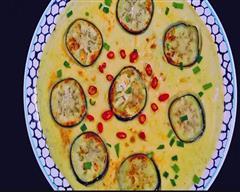 茄子鸡蛋饼