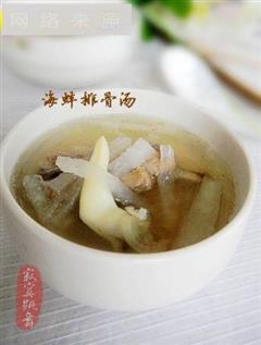 海蚌排骨汤
