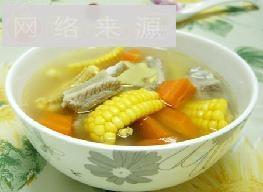 三色排骨汤