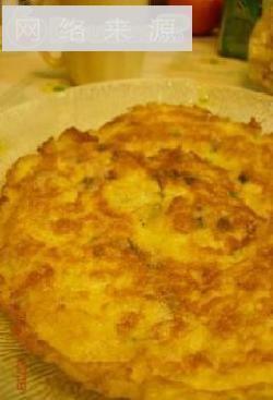 马蹄鸡蛋饼