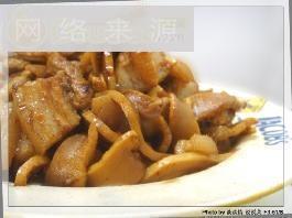 酸笋焖红烧肉