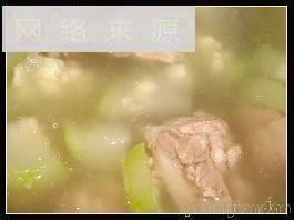 葫芦瓜排骨汤