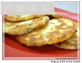 糯香豆渣煎饼