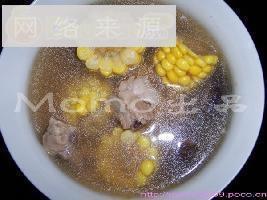 粟米香菇排骨汤
