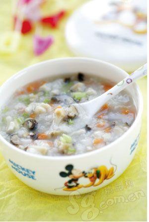 香菇皮蛋瘦肉粥