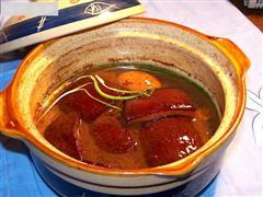 砂锅版红烧肉