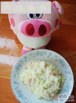 奶香土豆泥