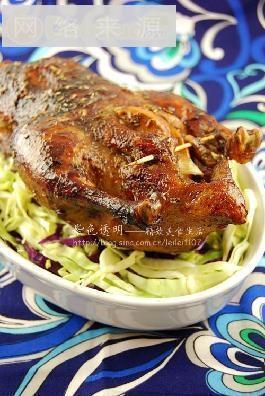 老北京烤鸭家庭改良版-迷迭香北京烤鸭