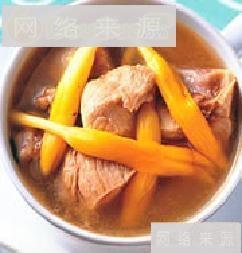 金针排骨汤