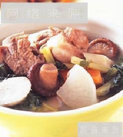 五行蔬菜排骨汤