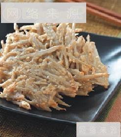牛蒡芝麻煎饼