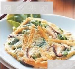 什锦野菜煎饼