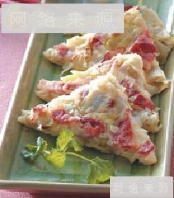 高丽菜培根煎饼