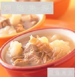 苦瓜福菜排骨汤