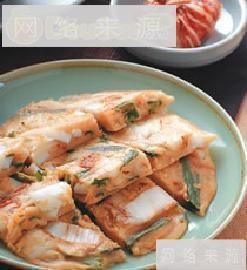 花枝泡菜煎饼