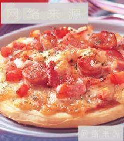 义式蕃茄披萨