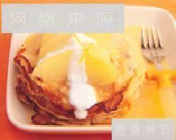 燕麦优格煎饼