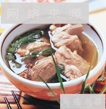 益母草排骨汤
