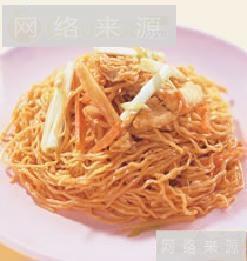 上海鸡丝炒面