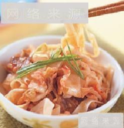 韩式泡菜炒面