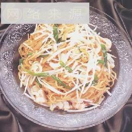 韭菜炒面线