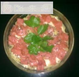 芝士火腿焗土豆泥