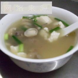 草菇豆腐排骨汤