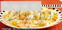 菜蔬蛋炒饭