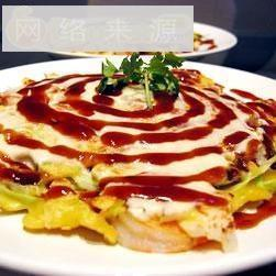 日本式烟肉鸡蛋煎饼