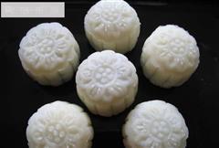 香芋冰皮月饼