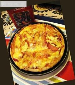 南意风情-萨拉米厚披萨