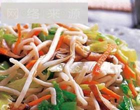广州牛肉炒面