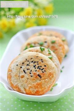葱香红油煎饼