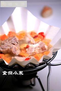 红枣栗子排骨汤