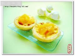 黄桃葡萄蛋挞