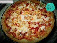 意大利薄饼披萨