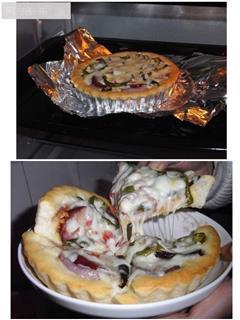 川味香肠杂蔬披萨