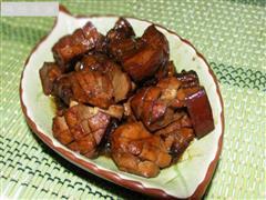 兰花干红烧肉