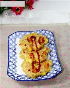 燕麦杂锦小煎饼