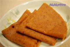 美味红枣煎饼