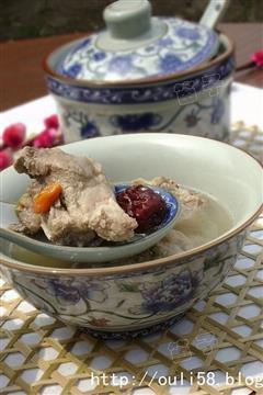 茶香排骨汤