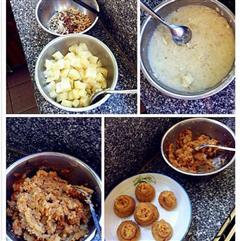 酱菜土豆泥