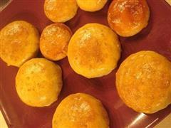 土豆泥蛋黄团圆月饼