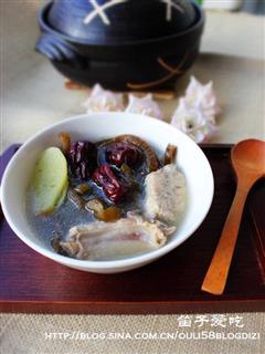 海茸排骨汤