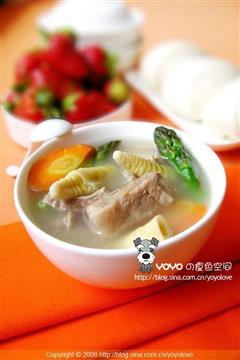 健康蔬菜排骨汤
