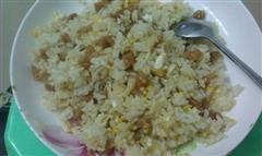 萝卜干鸡蛋炒饭